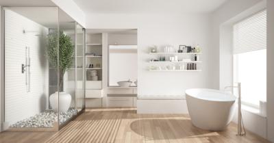 remodeled bathroom trends