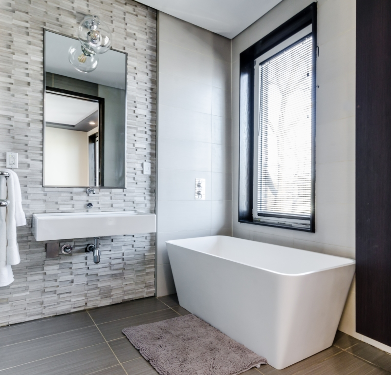 maximize bathroom space