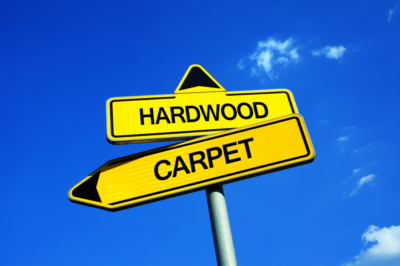 carpet vs. hardwood