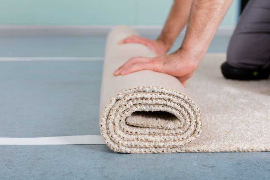 Carpet Installations by our expert installation crew at Houston Custom Carpets